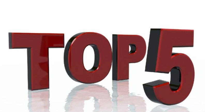 Top 5 - 2014